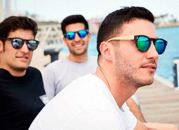 uso de las gafas de sol