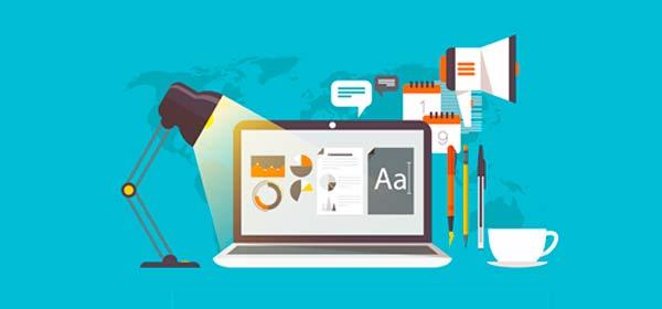 página web en negocio online