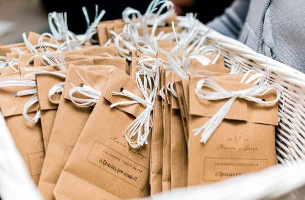 Regalos originales para los invitados de una boda o comunión