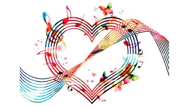 música y el entretenimiento para la salud