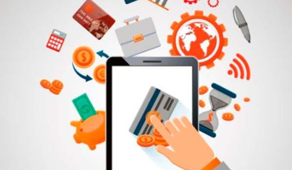 servicios y productos a través de internet
