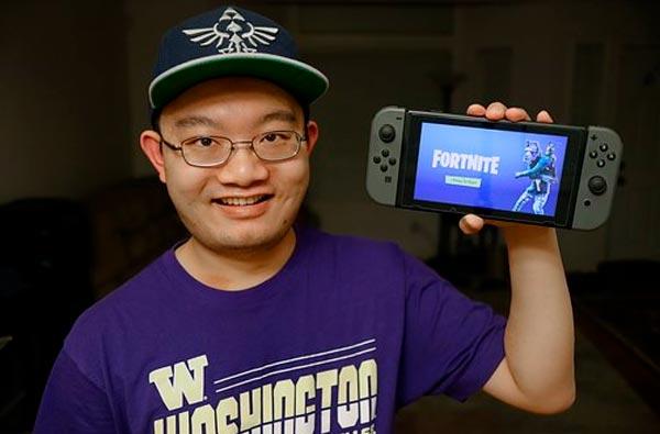 Fortnite famoso juego online
