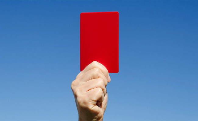 tarjeta roja online